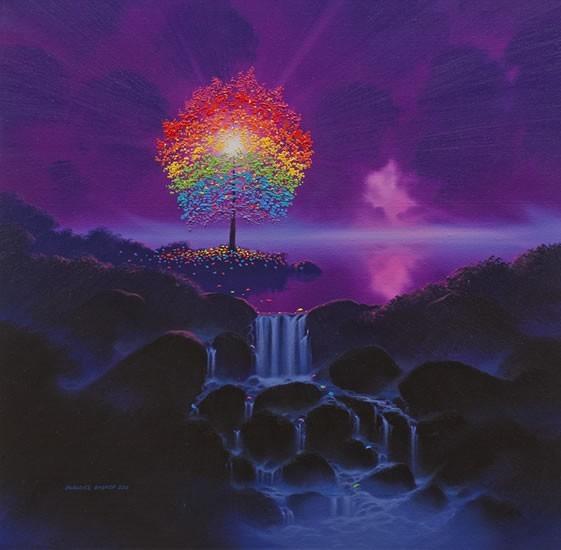 Rainbow Tree Violet Falls