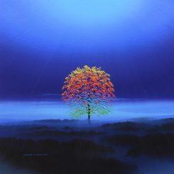 Rainbow Tree on the Moor