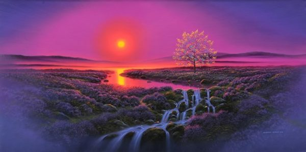 Pathsmeet at the Rainbow Tree (Landscape)