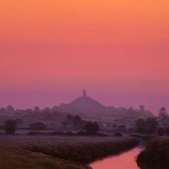 Isle of Avalon Before Dawn