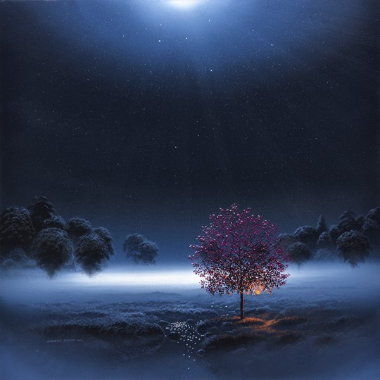 Tree of Memories, blue square