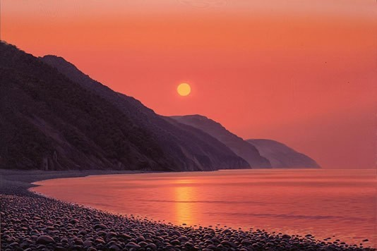 Evening Calm along the Exmoor Coast