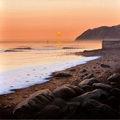 Early Morning at Lynmouth