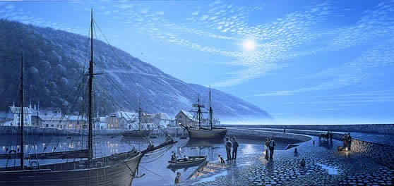 Home to Minehead on a Moonlit Tide