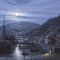 Home to Lynmouth on a Moonlit Tide