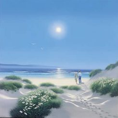 Together in Summer Dunes