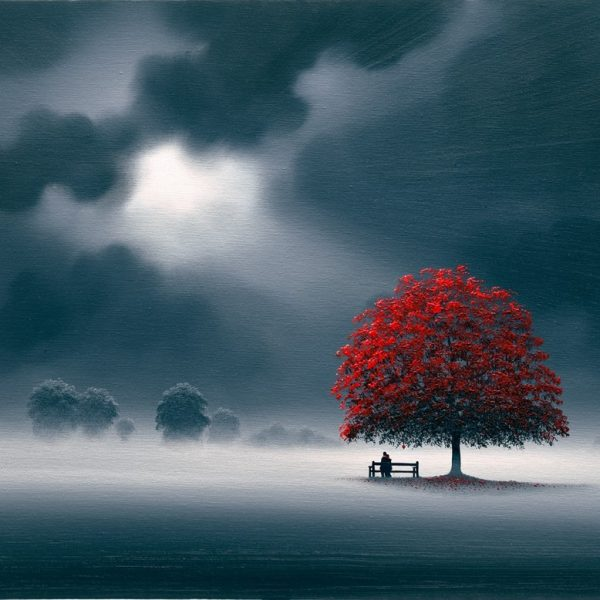 Together, Red Tree in the Moonlight