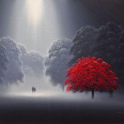 Where lovers walk (Landscape)